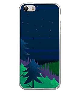 Night 2D Hard Polycarbonate Designer Back Case Cover for Apple iPhone 4