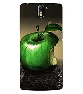 ColourCraft Fruit Image Design Back Case Cover for OnePlus One