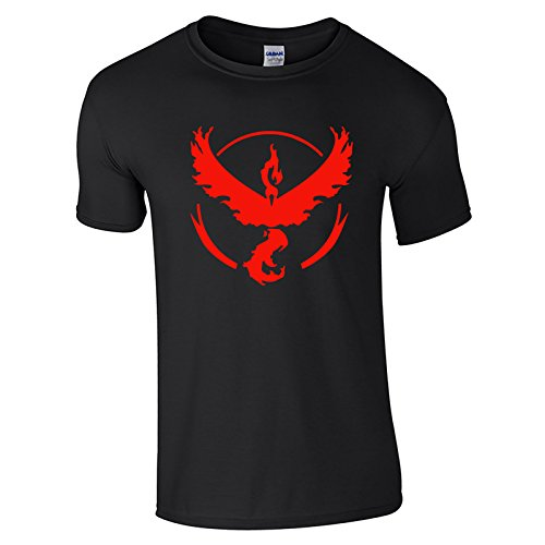 Pokemon Go Team Valor Black Shirt (Medium)