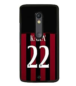 PRINTVISA Football Kaka Brazil Case Cover for Motorola Moto X Style