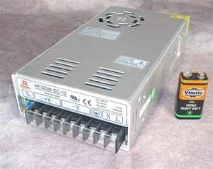 12VDC Regulated Power Supply - 25A Commercial - 320W