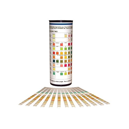 10 Parameter Urinalysis Reagent Strips (100 test strips per bottle)