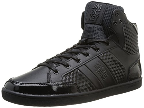 Jim Rickey  Grit Hi Leather Cubes,  Sneaker uomo Nero Black (nero) 41