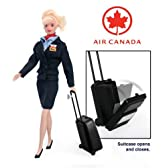 Air Canada Flight Attendant Doll 人形 ドール 【並行輸入】