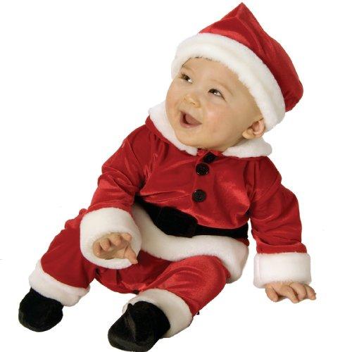 Velvet Infant Santa Costume