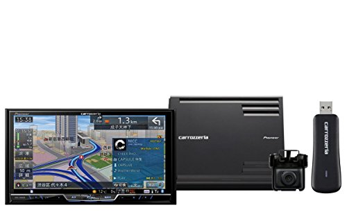 Pioneer  7V型ワイドVGA地上デジタルTV/DVD-V/CD/Bluetooth/USB/SD/チューナー・5.1ch対応・DSP AV一体型HDDナビ スカウターユニットセット AVIC-ZH0999S
