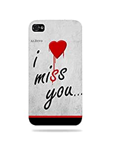 alDivo Premium Quality Printed Mobile Back Cover For Apple iPhone 4 / Apple iPhone 4 Back Case Cover (MKD316)