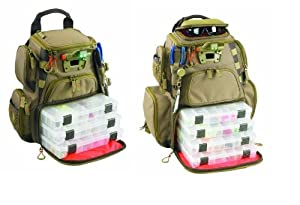 Wild River by Custom Leathercraft Father & Son Tackle Tek Recon Lighted Backpacks by Custom Leathercraft