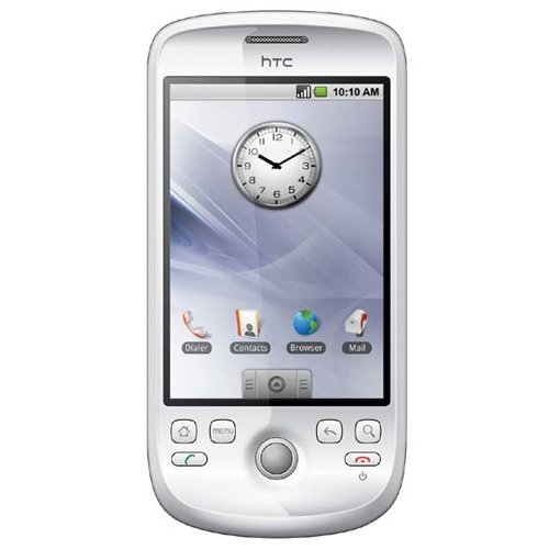 HTC Magic A6161 Unlocked Phone with Quad-Band GSM, 3.2 MP Camera, MP3/Video Player and MicroSD Slot – US Warranty – White