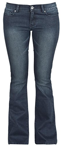 R.E.D. by EMP Grace (Boot-Cut) Jeans donna blu scuro W30L32