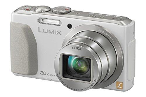Panasonic Lumix digital camera 20x optical with GPS DMC-TZ40 White - International Version (No Warranty) (Panasonic Tz40 Camera compare prices)