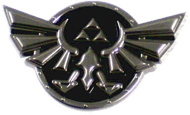 Kryptonite Nintendo Legend Of Zelda Triforce Belt Buckle