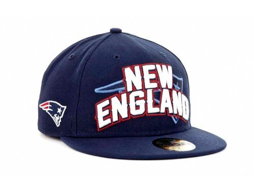 New England Patriots New Era NFL 2012 Draft 59FIFTY Navy Hat - Size 7 1/2 at Amazon.com