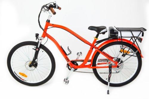 GBE GTO Beach Cruiser Electric Bike 36v Li-ion Battery 500w Motor