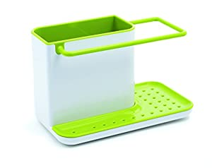 Joseph Joseph Caddy Sink Tidy, White and Green
