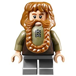 LEGO The Hobbit: Bombur the Dwarf Minifigure (Lord of the Rings)