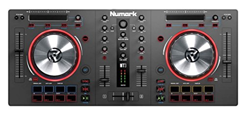 Numark Mixtrack 3 | USB DJ Controller with Trigger Pads & Virtual DJ LE Download (For Use with External Audio Interface) (Dj Mixers compare prices)