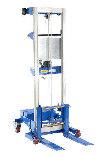 Vestil A-LIFT-CB-HP Counterbalance Hand Winch Lift Truck, 45-7/8