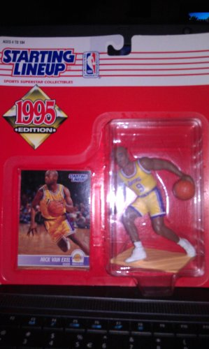 1995 NBA Staring Lineup - Nick Van Exel - Los Angeles Lakers
