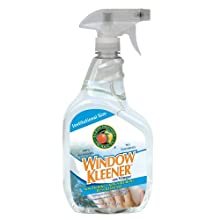 Earth Friendly Products Proline PL9300/32 Window Kleener Vinegar Glass and Shiny Surface Cleaner, 32 oz Trigger Spray (Case of 12)