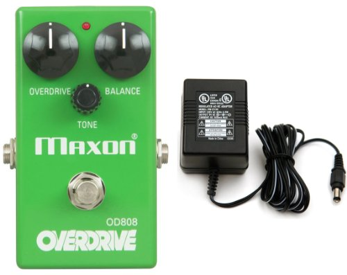 Maxon OD808 Overdrive Reissue Series Effects Pedal New