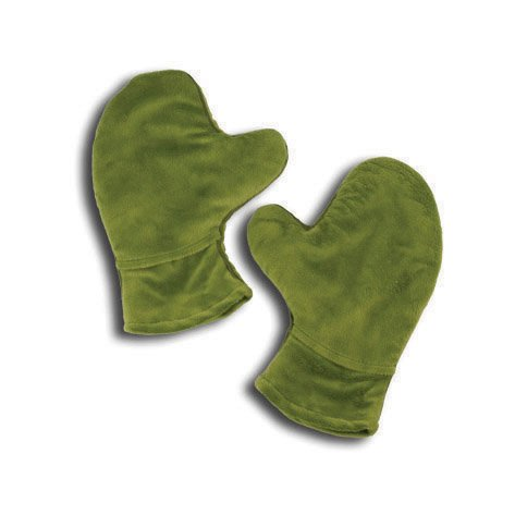 Relaxso Aromatherapy Hotties Mitts, Silky Plush Lime