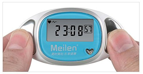 AZPL Welltop® Mini Heart Rate 3D Sport Pedometer 3d multifunctional sports Pocket Pedometer smart 3D Pedometer Activity Tracker (Blue)