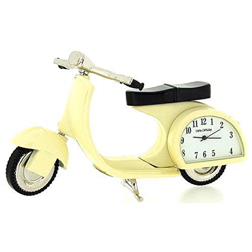 The Emporium Miniature Clocks 9088 - Orologio da polso, cinturino in metallo colore beige