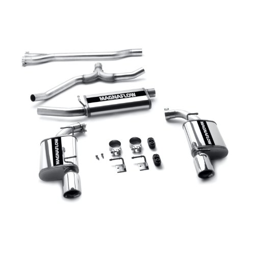 magnaflow 16936 stainless steel cat back exhaust system