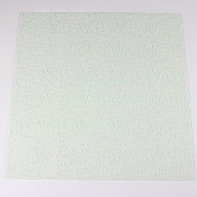 Silicone Rattan Flower Printing Design Embossing Pad Fondant Imprint Mat50x50cm