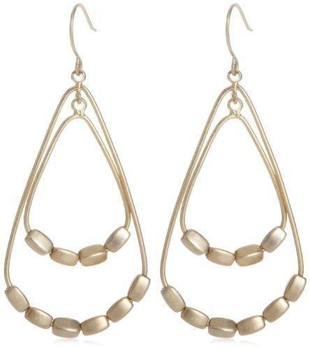 Kenneth Cole New York Bead Orbital Hoop Earrings