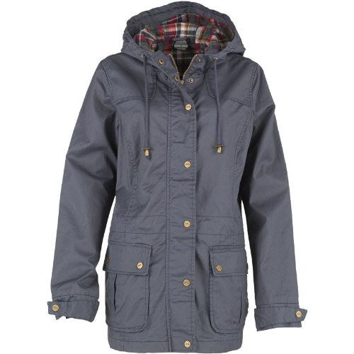 Navy/Messing Trespass Damen Ruby Wax Jacke Navy Ton