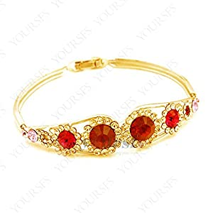 Ayyara Gem things remembered bracelet Lembrancinhas De Casamento Ruby