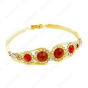 Amazon.com: Ayyara Gem aquarius bracelet Lembrancinhas De Casamento