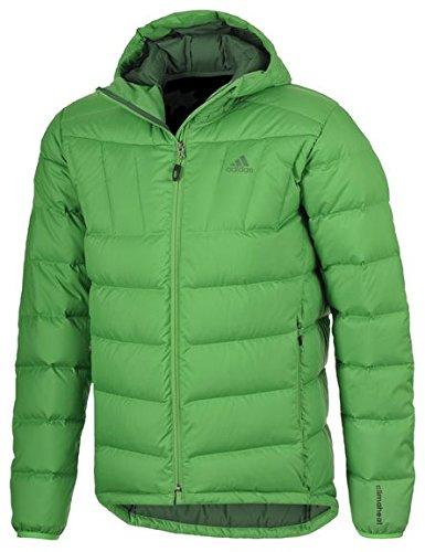 Giacca Adidas giacca da outdoor, uomo. Piumino da. Outdoor e per il tempo libero. Mantiene al caldo. Green.
