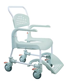 Etac Clean Shower Commode Chair with Adjustable Height by Patterson Medical