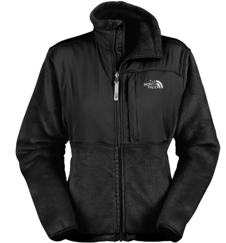 NorthFace Womens Denali Thermal Jacket Style# AFYQ (S, Black)