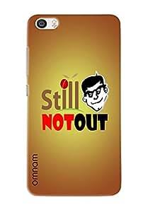 Omnam Inner Motivational Still Not Out Printed Designer Back Cover Case For Xiaomi Mi5