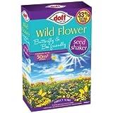 Doff Mélange de graines de fleurs sauvages pour papillons et abeilles 400g