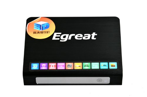 Egreat R6S - 3D Mediaplayer mit Android, Web-Browser, Mediathek und USB 3.0, Smart TV Hub Apps, DTS HD, Dolby True HD, Blu-Ray 3D ISO, HDMI 1.4
