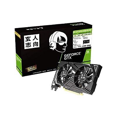 玄人志向 Nvidia Geforce Gtx 1650 搭載 グラフィックボード 4gb デュアルファン Gf-gtx1650-e4gbocdf