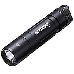 Revtronic Bright Mini Cree LED Flashlight, Compact & Small Flashlights, Adjustable Brightness