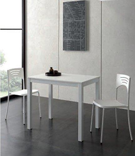 La Seggiola - Tavolo Allungabile Micro Table 665 - Struttura: Bianco