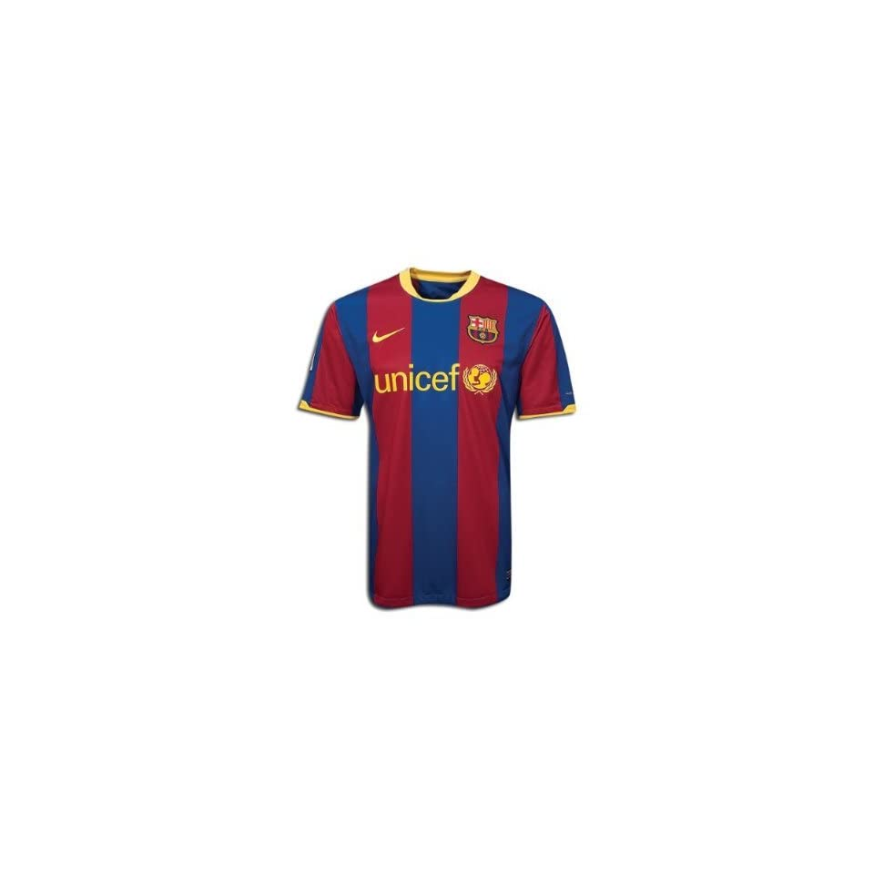 designer fashion 3f389 d2a9b Brand New 10/11 Barcelona Youth Home Messi #10 Soccer Jersey ...