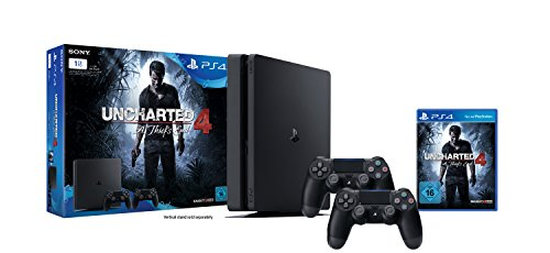 Sony-Playstation-4-Slim-1TB-Uncharted-4-2-Controller-USK-16