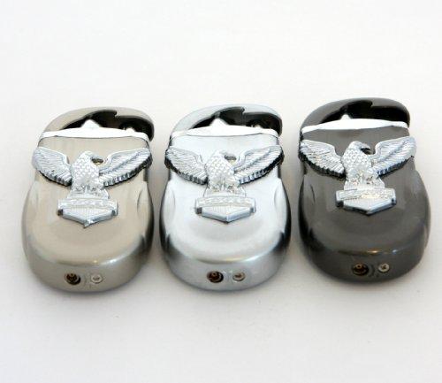 Butane Cigarette Windproof Torch To Flame Lighter W/ Eagle Emblem 26*750E