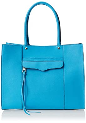 Rebecca Minkoff Medium M.A.B. Shoulder Bag,Neon Blue,One Size