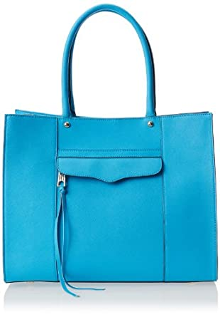 Rebecca Minkoff Medium M.A.B. Shoulder Bag,Neon Blue,One Size