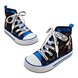 Disney Store Phineas and Ferb Canvas High Top Sneakers Tennis Shoes Size 2 Youth