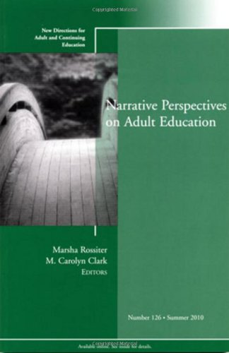 Narrative Perspectives on Adult Education: New Directions...